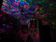 disco nights (Trixter13) Tags: flowers colors photoshop lights welding grandson bowling