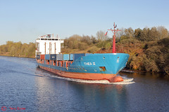 Thea 2 Wigg Island (Tel's Odds and Ends) Tags: manchestershipcanal wiggisland thea2