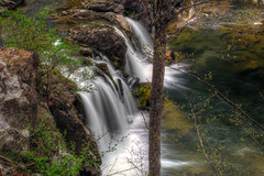Above Hannacroix Creek Falls (ca276) Tags: longexposure creek waterfall stream upstateny slowshutterspeed greenecounty nikond5200 hannacroixcreekpreserve