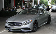 Mercedes-Benz S63 AMG Coupe (SPV Automotive) Tags: sports car grey exotic mercedesbenz coupe matte amg c117 s63