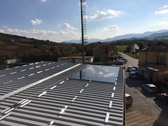 4) Tribuna Campo Sportivo in via Roma (durante i lavori)
