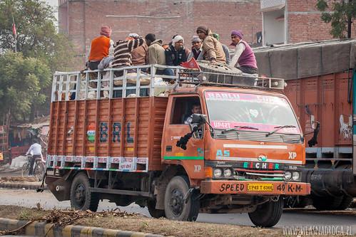 Załadowana ciężarówka