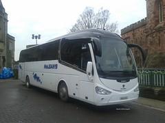 McLean's, [YR13UZC] - Carlisle (20/01/16) (David's NWTransport) Tags: scania irizar mcleans scaniak114 irizari6 yr13uzc