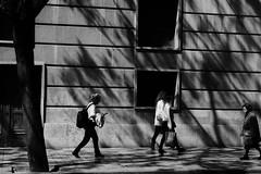 Yesterday, Today and Tomorrow (Amselchen) Tags: street city travel shadow people bw cinema valencia mono blackwhite spain fuji streetphotography fujifilm lightshadow fujinon lightandshadow shadowlight shadowandlight xt10 xc1650mmf3556oisii