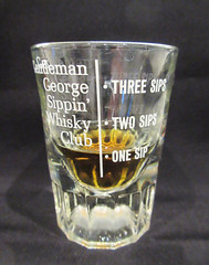 Just one sip of whiskey (Monceau) Tags: glass shot whiskey shotglass sips volumetric odc alittlebit justalittle 119366 onesip flickrbingo4g46