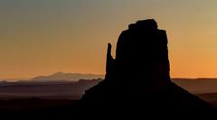East Mitten - Monument Valley (L.Clark Photography) Tags: arizona sunrise dawn utah butte desert navajo monumentvalley navajoreservation eastmitten monumentviewhotel