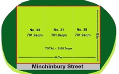 29, 31, 33 Minchinbury Street, Eastern Creek NSW