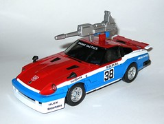 smokescreen transformers masterpiece mp 19 takara tomy 2012 vehicle nissan fairlady 280t-z car mode d with weapons (tjparkside) Tags: eye car race t one 1 robot nissan transformer g rally rifle style more bumper card jamming transformers weapon than vehicle g1 z mp tt custom 19 takara eight generation weapons tomy autobot meets collector masterpiece 38 launcher spoiler autobots fairlady 280 280zx thirty smokescreen 280z launchers 2014 cybertron diversionary disruptor misb tactician airdam 280zt