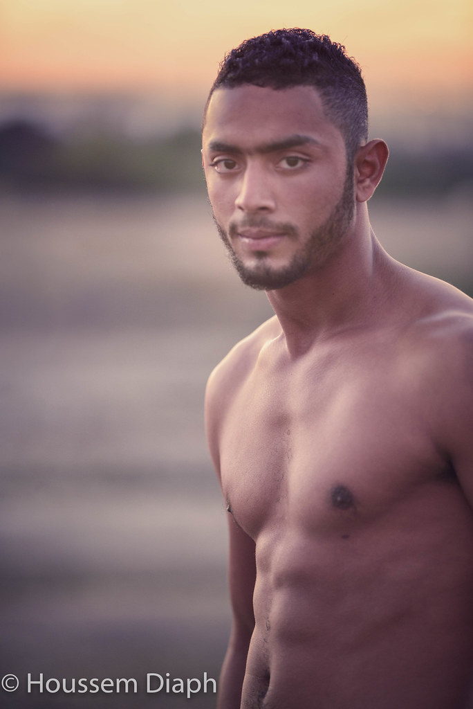 Monta (H.Diaph) Tags: man sexy pecs look manly young arab arabe