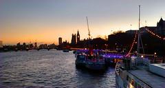 Sunset on the Thames (ScottElliottSmithson) Tags: sunset london thames bigben scottsmithson scottelliottsmithson