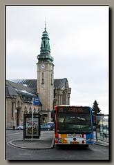 Gare de la Ville de Luxembourg (p_jp55 (Jean-Paul)) Tags: bus mercedes gare bahnhof multiplicity trainstation luxembourg autobus luxemburg cfl avl saarlorlux stadtluxemburg ltzebuerg cityofluxembourg villedeluxembourg stadltzebuerg