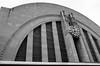 Union Terminal on Film (dpsager) Tags: bw cincinnati dpsagerphotography eos1v film ilforddelta100 ohio unionterminal seebw