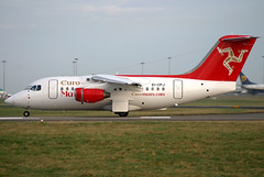 EI-CPJ (GH@BHD) Tags: aircraft aviation bae dub airliner avro dublinairport bae146 146 britishaerospace regionaljet euromanx eidw dublininternationalairport rj70 eicpj 146100 euromanxairlines