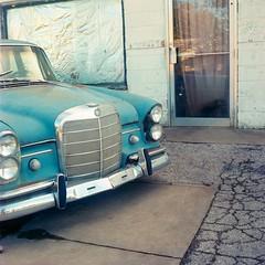 Tulsa, Oklahoma. 11.1.15. (Nothing Signified) Tags: blue 120 6x6 tlr film oklahoma car analog america vintage mediumformat square grit vintagecar kodak antique antiquecar 120film american vintagecamera americana analogue tulsa yashica bluecar twinlensreflex yashicamat 80mm yashicamat124g portra400 tulsaoklahoma yashinon kodakportra400 yashicamat124 kodakportra yashicatlr yashicamattlr mediumformatphotography parkology yashicamat124gtlr autoanthropology portrafilm yashinon80mm 120filmphotography americanelegy danwatsonphotography yashicatlrphotography yashicamat124gphotos nothingsignified yashicamat124gpictures twinlensreflexlens
