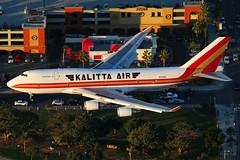 Kalitt Air Boeing 747-446F N744CK (Mark Harris photography) Tags: plane la aircraft aviation boeing 747 spotting klax kalitta