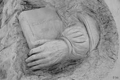 sculpted in stone-bw-detail-DSC_8341-W-1 (taocgs) Tags: bw sculpture detalle detail stone bn escultura sculpted piedra monocromtico esculpido