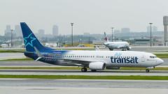 A0051_090 (Vince Amato Photography) Tags: toronto ontario canada private jet boeing yyz taxiing pearsoninternationalairport airtransat b737800 cyyz cgtqb