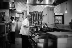 Gregoire (marq4porsche) Tags: blackandwhite bw cooking kitchen work canon french cuisine 50mm restaurant oakland working cook chef workspace workplace piedmont 50mm12 purity 6d gregoire 50mml canon6d ef50mm12l