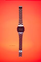 casio - 363 | 365 (~ jules ~) Tags: red digital julian nikon watch casio chrome jules 365 d610 sb700 julianmarshall julianmarshall©2015