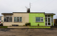 Beachlands (That James) Tags: uk england house holiday bay seaside estate 1950s eastbourne artdeco southcoast eastsussex bungalow pevensey beachlands