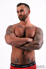 Nick Wagner (shoot 4) 043 (Violentz) Tags: shirtless portrait hairy man male guy model body muscle muscular bodybuilding fitness physique tattooed patricklentzphotography