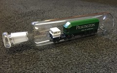 Daf in a bottle (South Strand Trucking) Tags: glass desk lorry ornament artic pilkington niconijman