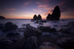 Rodeo Beach (DerickCarss) Tags: ocean california ca sunset beach rocks pacific marin headlands rodeo
