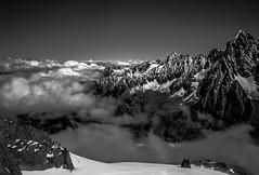 Lumires d'Altitude (Frdric Fossard) Tags: panorama alpes lumire altitude horizon glacier ciel contraste neige nuage chamonix alpinisme cime hautesavoie chardonnet crtes luminosit massifdumontblanc artes