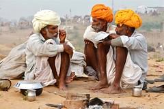 The conversation (Simon Maddison LRPS) Tags: pushkar rajasthan