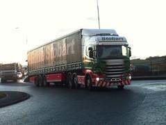 H198 - PO14 VHX (Cammies Transport Photography) Tags: road truck florence lorry eddie scania admiralty esl rosyth maise stobart eddiestobart h198 vhx r440 po14 po14vhx