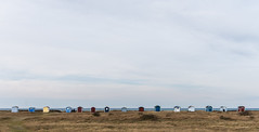 beachhutts (Mange J) Tags: blue sea sky panorama house colour beach water colors field rural se skne little pentax sweden sverige beachhouse skanr resund skneln tamronspaf90mmf28 pentaxart pitorescue magnusjakobsson k5ii
