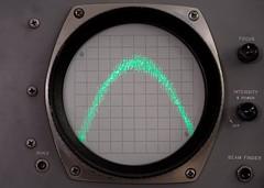 Ultrasonic DSD Distortion (rexp2) Tags: flickr instrument audio oscilloscope nikkormicro105mmf28 sonya7s sony0mmf00