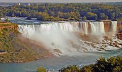 Niagara - the American Falls.  13 September 2012. (ricsrailpics) Tags: usa canada niagarafalls explore 2012 americanfalls