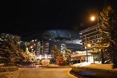 Pont skieur (-Skifan-) Tags: soir lesmenuires 3valles les3valles skifan