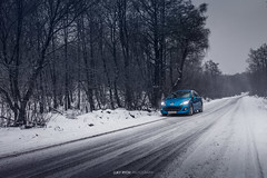 Peugeot 207 & Peugeot 207 (Luky Rych) Tags: peugeot 207 french car automotive photography photo snow snowly cars winter cold ice lonely road trees europe white canon 100d worldcars