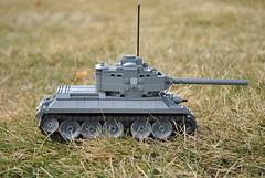 T-34/85 Lego (Weegee011) Tags: tank lego wwii ww2 medium russian