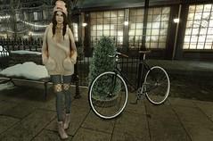 Look # 133 (Alexa Sabetha   Yes Please!) Tags: winter fashion night avatar secondlife nana zenith fri taketomi thriftshop gacha virtualgirl monso