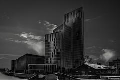Malmo Live (AndreasNikon) Tags: city sky blackandwhite bw skyscraper skåne sweden live ngc bro nikkor nocrop malmö malmo clods malmöe nohdr nikond600 skanecounty