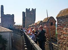 Castello di Gradara - Camminamenti di ronda (www.turismo.marche.it) Tags: panorama photowalk urbino castello borgo pesaro marche rocca gradara festemedievali camminamenti pesaroeurbino provinciadipesaroeurbino destinazionemarche