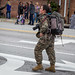 2nd Marine Corps Div Parade  - A Pro at Work