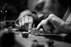 the watchmaker  - JLC (oscarcablao) Tags: jlc watchmaker jaegerlecoultre