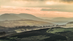 Sunset at behind the Pentland hills (Chris Shanks) Tags: sunset walking landscape photography scotland hills telephoto 70300mm tamron pentlands lightroom penicuik