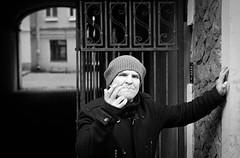 Take a picture of me (EyeC4ndy) Tags: street bw white black film st analog photography 50mm russia 4 8 petersburg 400 pan jupiter kiev ilford