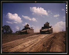 Light tanks, Fort Knox, Ky. (Photo Nut 2011) Tags: kentucky stuart libraryofcongress fortknox tanks m3a1