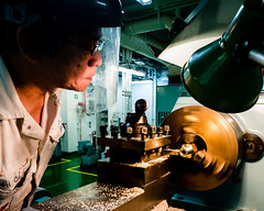 Machinist (Richard_Turnbull) Tags: crew workshop turner engineer lathe machinist fitter mechannic