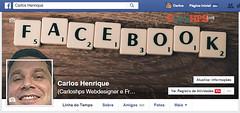 Capa para perfil pessoal do Facebook (CarlosHPS) Tags: photoshop design capa webdesign cover template facebook webmarketing