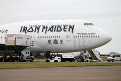 TF-AAK B.747-428 Iron Maiden (ChrisChen76) Tags: iceland cardiff ironmaiden b747 airatlanta b747428