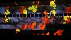 MVI_4733 Autumn leaves float by on the Portrait Gallery (spelio) Tags: mar video canberra act mp4 mov compressed g12 enlighten 2016