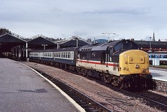 37431 IS SEEN AT INVERNESS ON 12 JULY 1991 (47413PART2) Tags: 37431