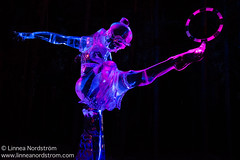 Ice Art - Acrobat (Linnea Nordstrm) Tags: world winter sculpture cold color art ice beautiful alaska night championship artwork colorful artistic cut creative exhibit carving illuminated carve arctic sparkle nighttime colored block lit icy sparkling fairbanks sculpt iceart icepark